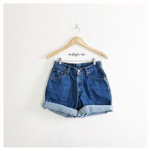 Levi's ∙ Dark Wash Denim Shorts